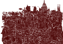 Bijna twaalf uur lang viel de Duitse Luftwaffe de stad aan met brandbommen en hoge explosieven, waardoor een vuurstorm ontstond die bekend werd als de 'Tweede Grote Brand van Londen'. St Paul's was niet vrijgesteld van de inval en in totaal vielen achtentwintig brandbommen op de kathedraal en haar terrein.