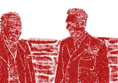 George VI was op zijn hoede voor Churchill na Gallipoli en de crisis van de troonsafstand. Maar een veelgeprezen nieuw leven van de premier in oorlogstijd door Andrew Roberts onthult dat de twee vertrouwelingen werden en uiteindelijk goede vrienden.