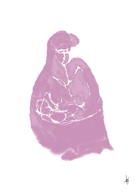 Mother Pink, Artwork Poster