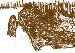 Hij had haar zo gemist in het kamp. En terug in Nederland was ze er ook niet. Maar nu kan Sieg Maandag zijn moeder Keetje weer in de armen sluiten, samen met zijn zusje Henneke. Dat de drie elkaar weer hebben gevonden heeft alles te maken met een inmiddels beroemde foto van Sieg. Het is een foto die veel Amerikanen schokte. Een jongetje dat langs lijken loopt in Bergen-Belsen, zijn blik afgewend. Dat jongetje was de 7-jarige Sieg Maandag uit Amsterdam. De foto werd kort na de bevrijding van het concentratiekamp genomen. De Brit George Rodger maakte een fotoreportage van het onvoorstelbare leed dat hij daar zag. Foto's van stapels lijken, van gevangenen zo zwak dat ze amper beseften dat ze vrij waren en van dat jongetje dat langs de vele lijken liep. Rodger wist niet wie het jongetje was. Hij heeft niet hem gepraat. Hij was gegrepen door het beeld van een jongetje dat schijnbaar onverschillig langs de lijken loopt.  Sieg was toen al bijna een jaar in Bergen-Belsen. De dood, de honger en het lijden hoorden bij zijn jonge leven. Het is zijn leven. Hij was nog maar vijf jaar toen hij samen met zijn Joodse ouders en zus gedeporteerd werd naar Westerbork en later naar Bergen-Belsen in Duitsland. Zijn vader werd op 4 december 1944 overgeplaatst naar concentratiekamp Sachsenhausen. Hij heeft de oorlog niet overleefd. Een dag later werd zijn moeder gedeporteerd naar Neuengamme. Sieg en zijn zusje bleven alleen achter. In april werden ze bevrijd door Britse soldaten. Kort daarna werd ook moeder Maandag bevrijd. Via Zweden kwam ze terug in Amsterdam. Ze ging direct op zoek naar haar kinderen. Maar niemand wist iets. Volgens het Rode Kruis waren Sieg en Henneke dood.