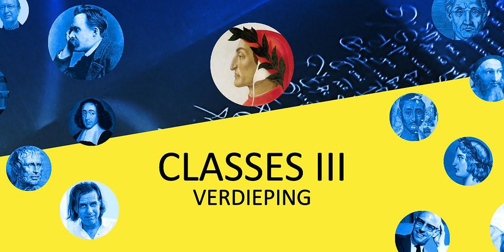 Classes III - Verdieping (3 zondagen)