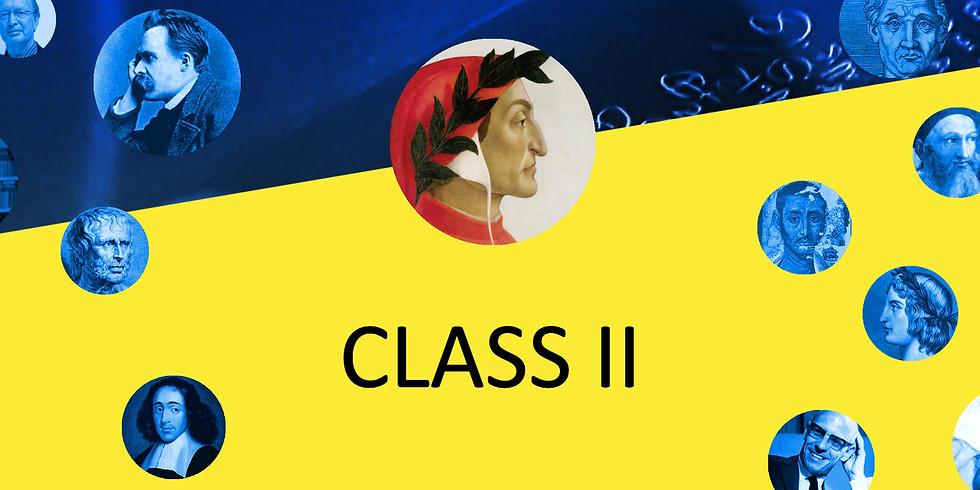 CLASS II - verdieping (3 avonden)