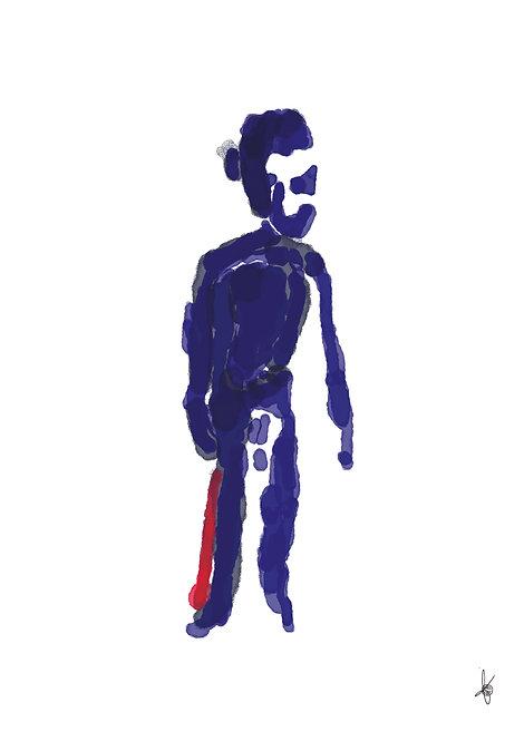 Mister Blue, Artwork Poster