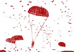 Mijn vader (Piet van den Hurk) was woonachtig in Valkenswaard en bij hem thuis zaten 2 Engelse parachutisten ondergedoken. Deze mannen zijn altijd een deel van onze familie blijven innemen en tot hun dood in contact gebleven met ons. Ze werden door ons als oom aangesproken. Oom Erik en oom Robert...  Ingezonden door: Tonnie van den Hurk