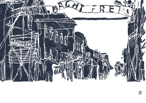 Arbeit macht frei is een spreuk die boven de toegangspoorten van de nationaalsocialistische concentratiekampen en vernietigingskampen stond. De spreuk laat zich het best vertalen als 'arbeid bevrijdt'. Alleen in kamp Buchenwald stond Jedem das Seine boven de poort. De spreuk is de titel van een in 1873 gepubliceerde roman van Lorenz Diefenbach genaamd Arbeit macht frei: Erzählung von Lorenz, waarin gokkers en oplichters de eeuwige deugd bereiken door arbeid. De uitdrukking werd ook in het Frans gebruikt door de Zwitser Aguste Forel (Le travail rend libre!) in zijn werk Fourmis de la Suisse (1920). De spreuk werd al sinds 1933 door de nazi's gebruikt. Oorspronkelijk was de spreuk niet zozeer cynisch als wel belerend bedoeld.