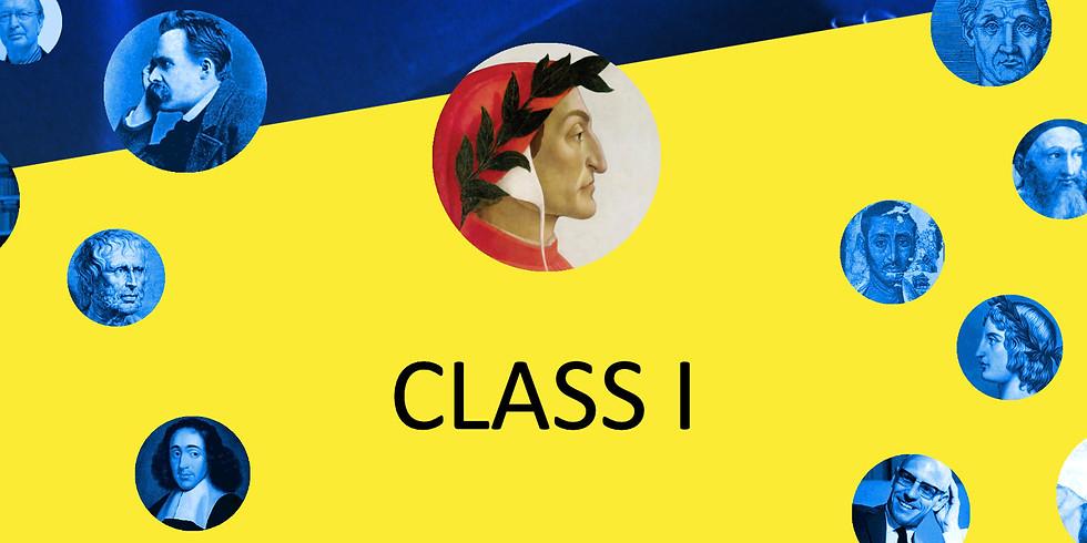 CLASS I - verbreding (3 avonden)