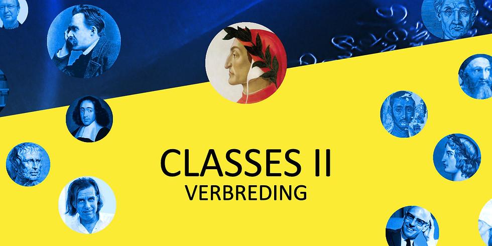 Classes II - Verbreding (3 avonden)