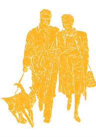 """Aviva Witt is de kleindochter van Willy Polak, die in de oorlog is omgekomen. Zij vertelt aan de hand van het boek ´Wie trouwt er nou met een Jood!´ van haar oom Frank Polak de geschiedenis van haar grootouders. Op 22 mei 1940 trouwden Willy Polak en Puck Veldhuis. Hij was joods, zij niet. De oorlog was net uitgebroken, maar de heel verliefde jonge mensen dachten daar niet echt aan: op hun huwelijksaankondiging staan de woorden """"we two, we make our world"""". In 1943 kwam bij dit tweetal een derde: hun zoontje Frank, die werd geboren op 1 mei 1943. De oorlog konden ze toen niet meer wegduwen, Willy had inmiddels een davidsster op zijn overjas en zijn colbertjasje en er waren nog veel meer anti-joodse maatregelen. Ook waren al veel familieleden van Willy """"vertrokken"""". Puck en Willy genieten van hun zoontje en houden een babyboek bij met zijn vorderingen. Het gezin duikt onder in Bilthoven en Bussum. Ook hier zijn mooie foto's van, waarop de liefde voor elkaar en hun zoontje afstraalt. Op 5 september 1944, Dolle Dinsdag vertrekt het gezin op stel en sprong naar Amsterdam. Frank is ziek, naar later blijkt heeft hij mazelen en daar geneest hij voorspoedig van. Maar het noodlot slaat toe: Willy wordt gearresteerd, waarom is niet te achterhalen. In het babyboek wordt daarna niets meer geschreven…. De wegen van de geliefden hebben zich nu dus gescheiden: Puck en Frank in Amsterdam en Willy in de Amsterdamse gevangenis. Vandaar wordt hij begin februari 1945 overgebracht naar Westerbork, maar het geluk is hem niet langer welgezind: het Duitse militaire konvooi wordt door geallieerden bij Wijhe beschoten en Willy overlijdt op 29-jarige leeftijd aan zijn verwondingen. Hij wordt in Wijhe begraven. Puck vertrekt hoogzwanger met Frank naar haar moeder in Haarlem. Daar bevalt ze van Wicky, de dochter die naar haar vader is vernoemd maar die hij nooit heeft mogen zien. Kort na de oorlog gaat Puck in de Oudeanstraat 33 samenwonen met Jan Schinkel. De kinderen Frank en Wicky weten niet """