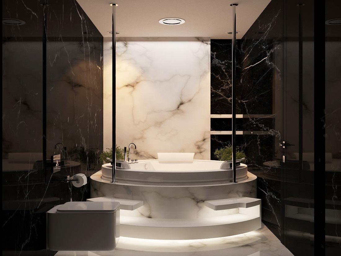 black-marble-walls