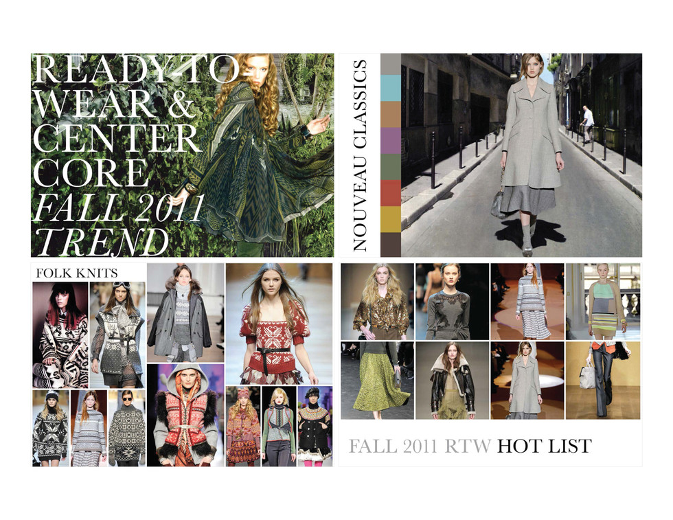 TREND GUIDE FALL 2011