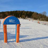 Sjezdovka pro lyžařskou školu