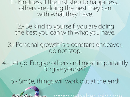 5 Rules for Life