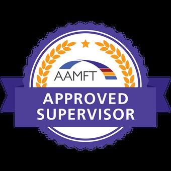 AAMFT Aproved Supervisor Badge