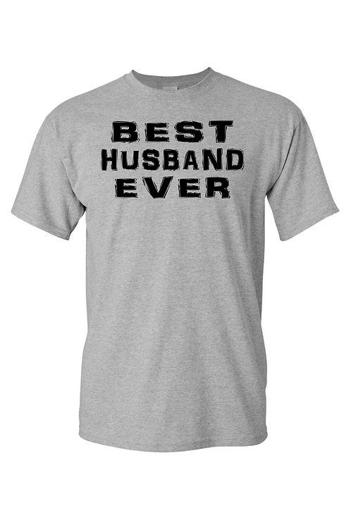 "T-shirt ""Best Husband Ever"""