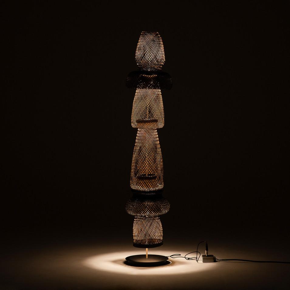 luminária arumã piso
