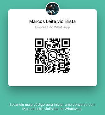 QRcode WhatsApp Marcos Leite violinista