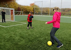 Julie Michelle Blind football.jpg