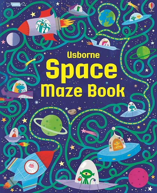ספר המבוכים חלל Usborne