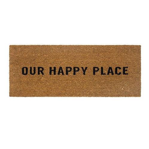 שטיח סף כניסה לבית או לבניין OUR HAPPY PLACE