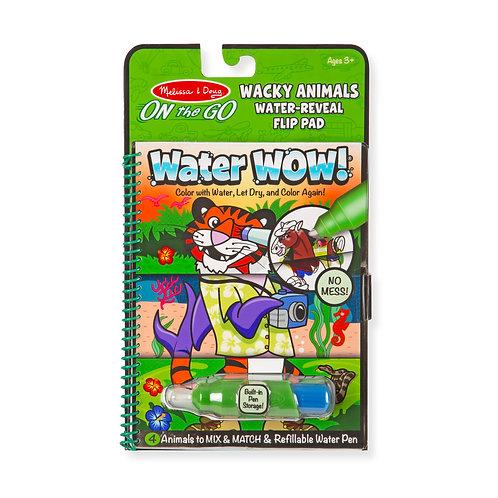 חוברת טוש מים חיות משוגעות