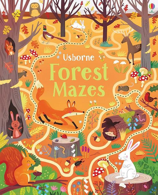 ספר מבוכים יער Usborne