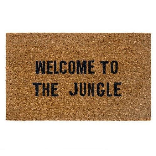 שטיח סף כניסה לבית או לבניין WELCOME TO THE JUNGLE