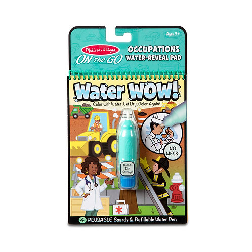 חוברת טוש מים מקצועות