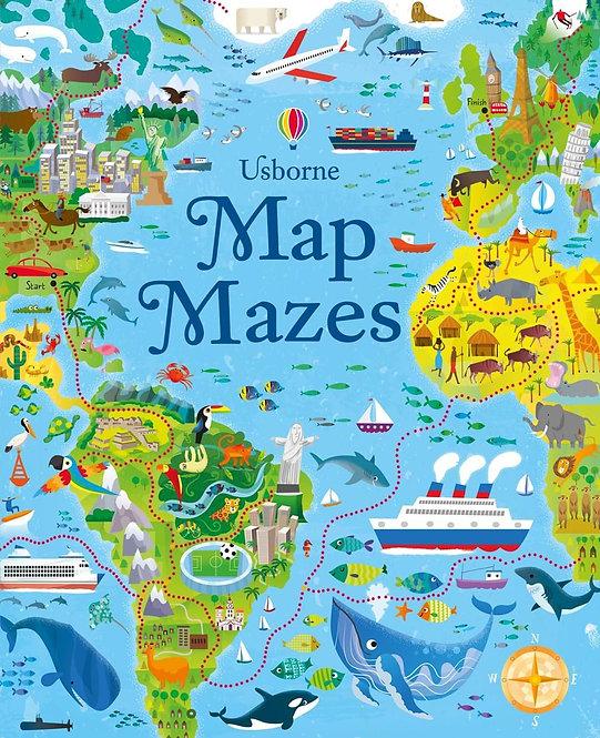 ספר מבוכים מפות Usborne
