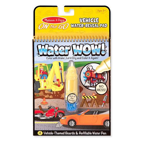 חוברת טוש מים כלי תחבורה