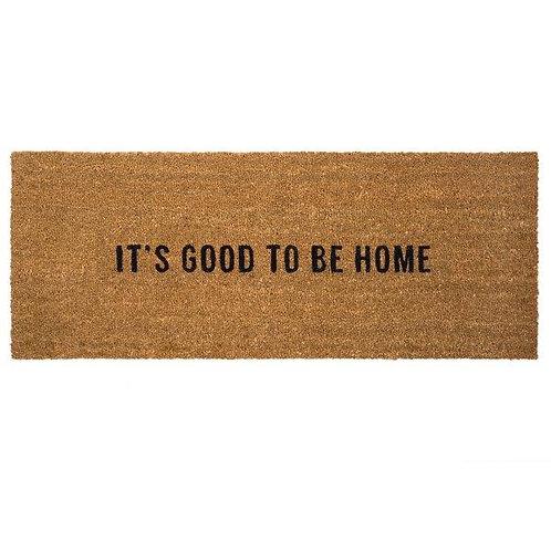 שטיח סף כניסה לבית או לבניין ITS GOOD TO BE HOME