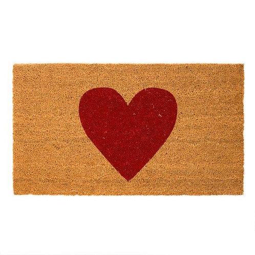 שטיח סף כניסה לבית או לבניין לב LOVE