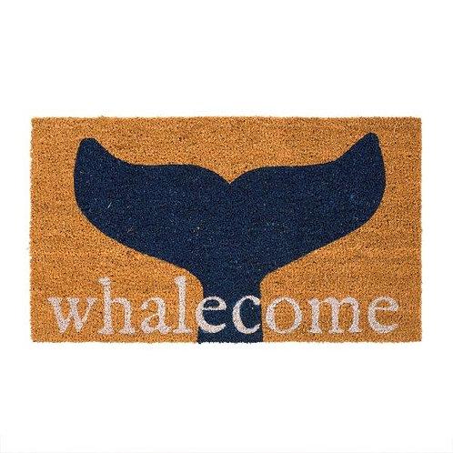 שטיח סף כניסה לבית או לבניין WELCOME WHALE