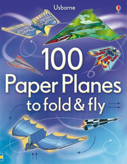 100 מטוסי נייר Usborne