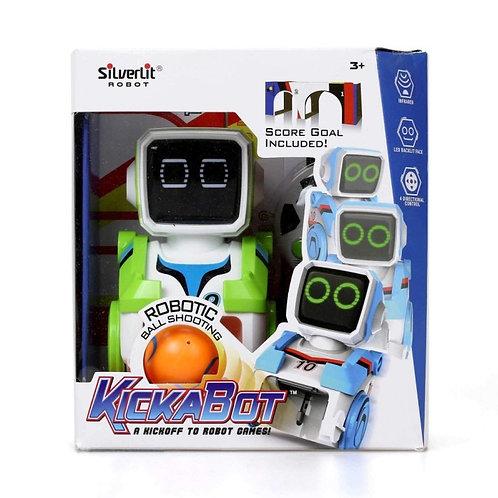 ערכת רובוט קיקבוט בודד - כדורגל Silverlit