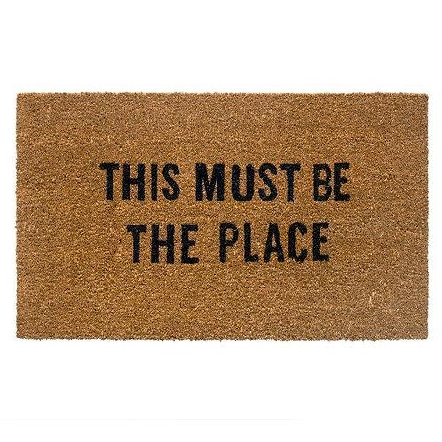 שטיח סף כניסה לבית או לבניין THIS MUST BE THE PLACE