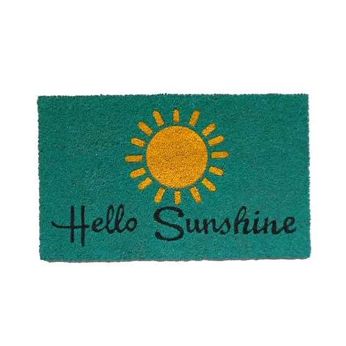 שטיח סף כניסה לבית או לבניין Hello Sunshine