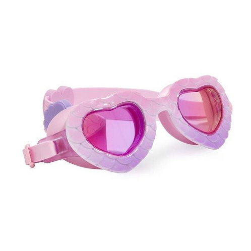 משקפת שחייה מעוצבת בת ים בצדפה לגיל 3+ Bling2O