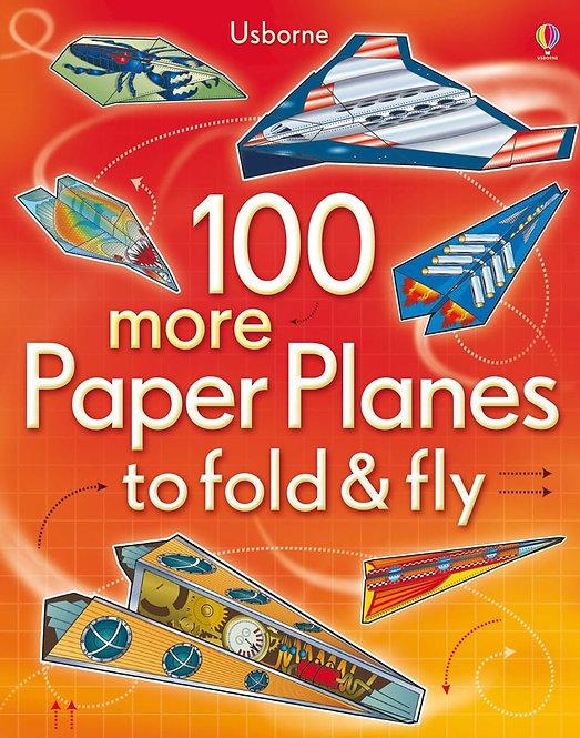 עוד 100 מטוסי נייר Usborne