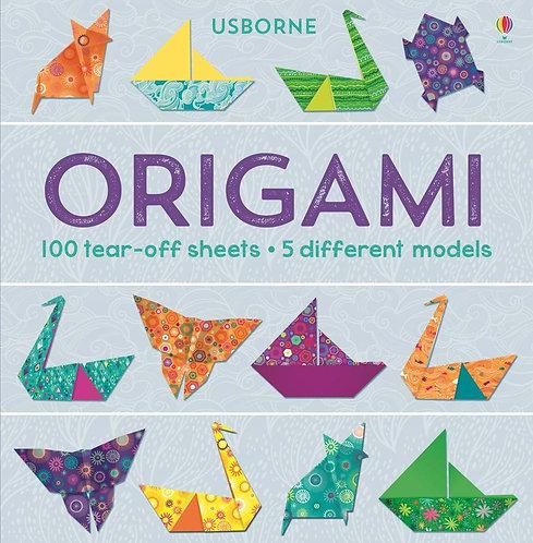 אוריגמי - 100 דפים והוראות Usborne
