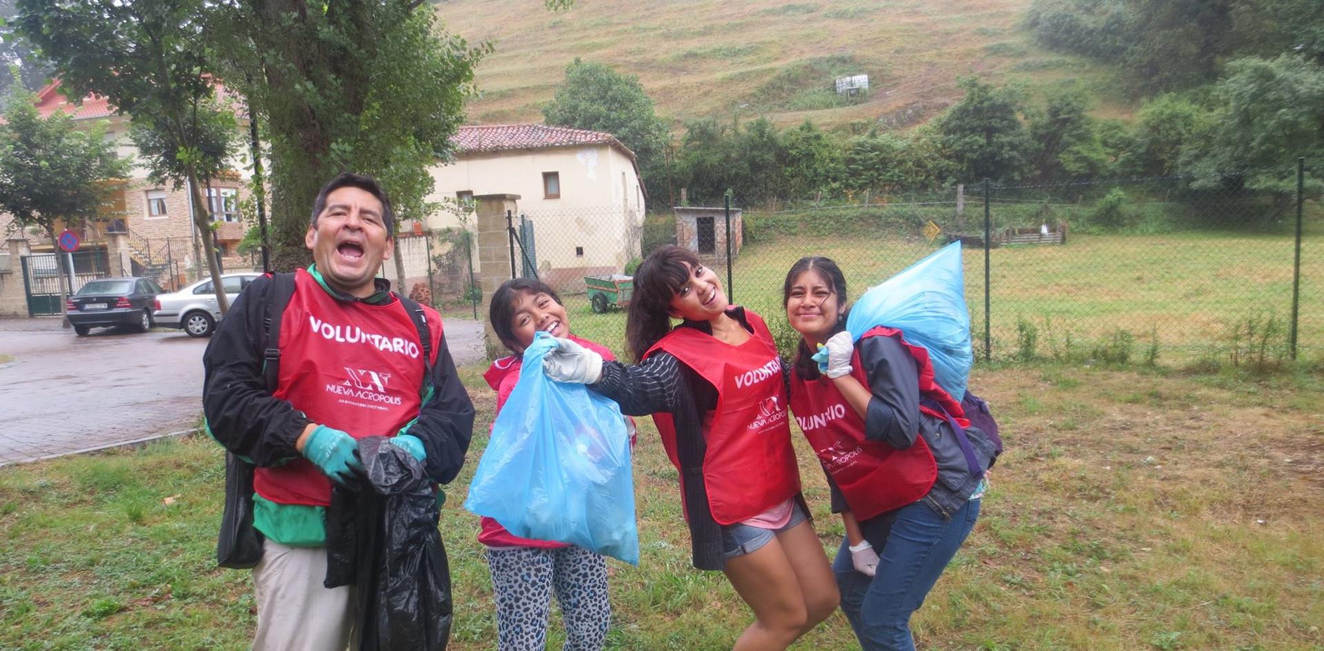 Bilbao-Limpieza de zonas verdes