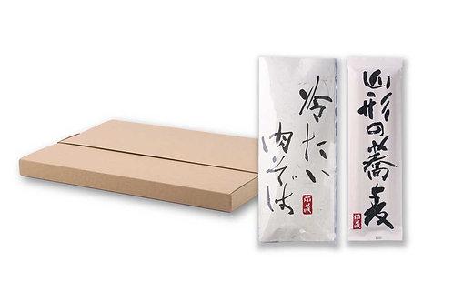 【お試しセット】山形の蕎麦・冷たい肉そばセット