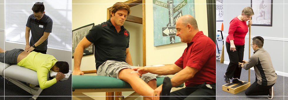 Orthopedic, manual therapy, sports related injury