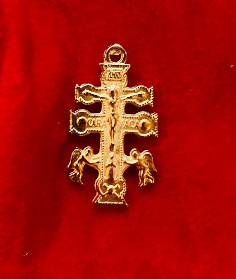 Cruz de Caravaca - Cross of Caravaca (1 inch)