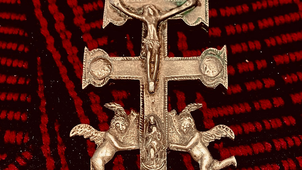 Large antique Cross of Caravca