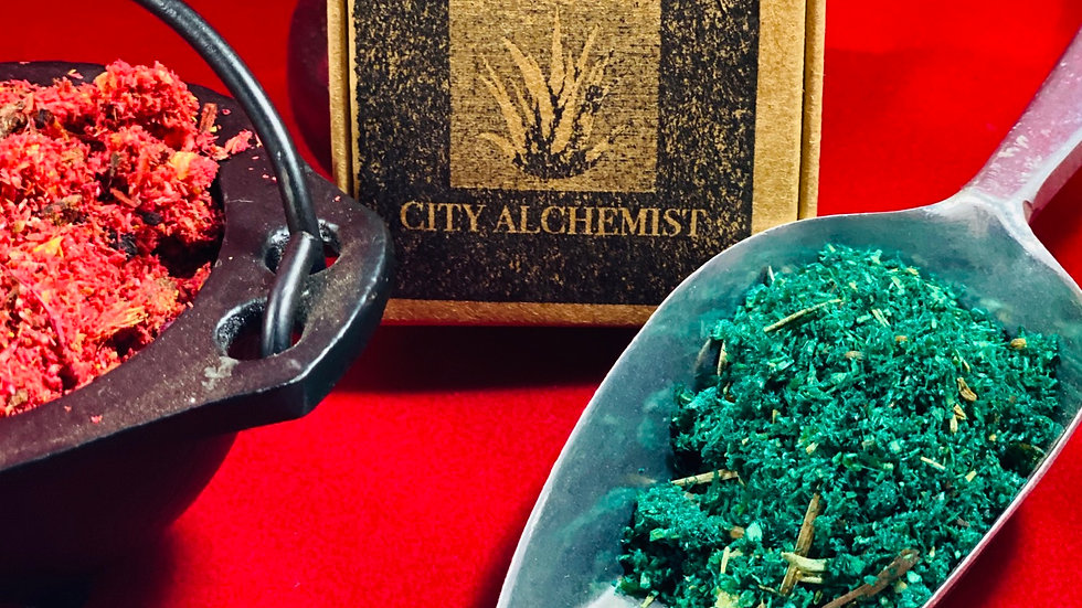 City Alchemist Incense box