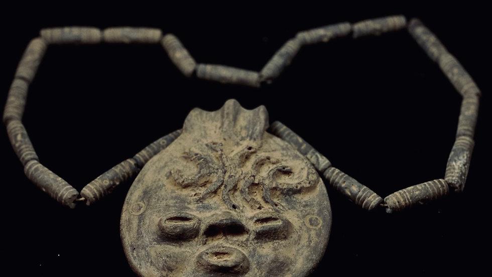 Aztec Brujo Talisman (clay)