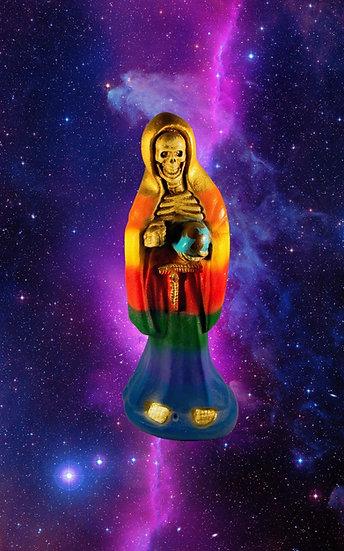 Santa Muerte Rainbow