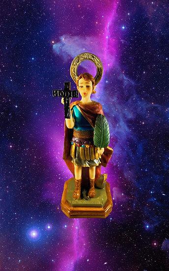 Saint Expedite Statue