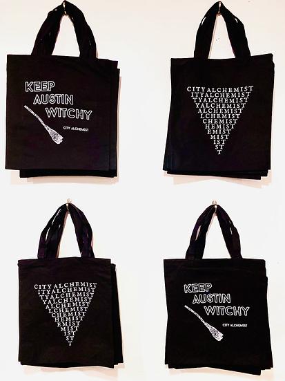 City Alchemist Tote bags