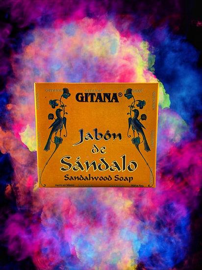 Gitana Jabón de Sándalo